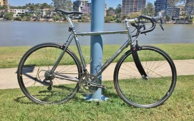 Custom Colossi XCr road bike
